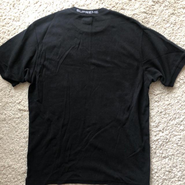 Supreme(シュプリーム)のsupreme 18ss Wafle Ringer 黒 Mサイズ 美品 値下げ メンズのトップス(Tシャツ/カットソー(半袖/袖なし))の商品写真