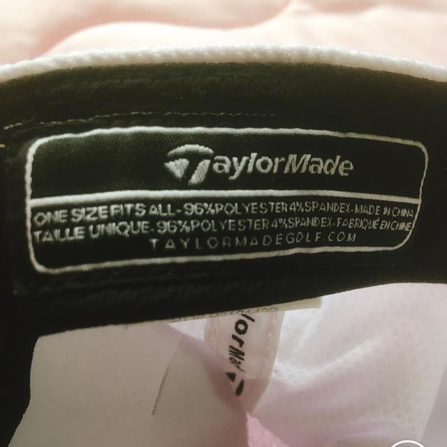 お洒落 taylormadeゴルフキャップ メンズの帽子(キャップ)の商品写真