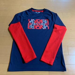 アンダーアーマー(UNDER ARMOUR)のアンダーアーマー重ね着風TシャツYLG(Tシャツ/カットソー)