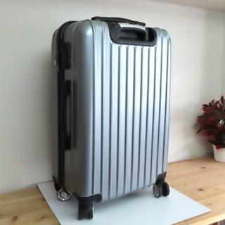 キャリーバッグ キャリーケース シルバー 大型 大容量 美品 外海 旅行バッグ