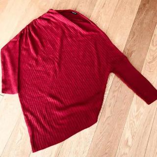 オペーク(OPAQUE)のレディース 変形デザイン ニット (ニット/セーター)