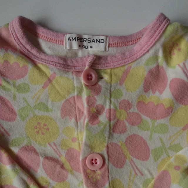 ampersand(アンパサンド)の【値下げ】女の子 パジャマ 90センチ キッズ/ベビー/マタニティのキッズ服 女の子用(90cm~)(パジャマ)の商品写真