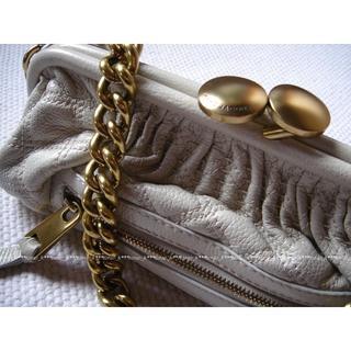 マークジェイコブス(MARC JACOBS)の美品 マークジェイコブス スリムスタム クラッチバッグ(ショルダーバッグ)