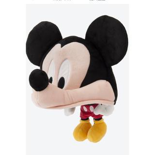 ディズニー(Disney)のディズニー ミッキー 帽子 ファンキャップ 58センチ(キャラクターグッズ)