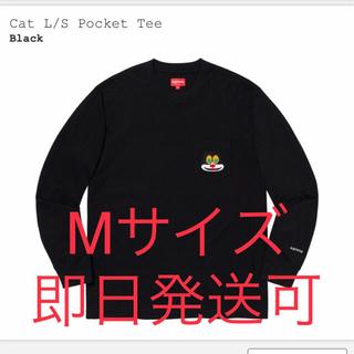 Supreme -  Mサイズ supreme cat L/S pocket tee black