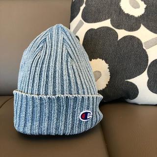 Champion - チャンピオン デニム ニット帽