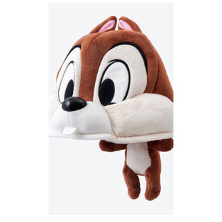 ディズニー(Disney)のディズニー チップ&デール チップ 帽子 ファンキャップ 58センチ(キャラクターグッズ)