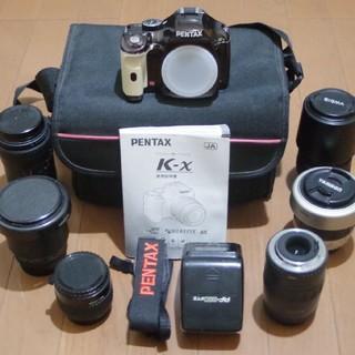 PENTAX - PENTAX K-X レンズ等セット 本州に限り送料無料