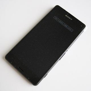 ソニー(SONY)の【外装交換品】SIMロック解除 ドコモ Xperia A4 SO-04G 灰(スマートフォン本体)