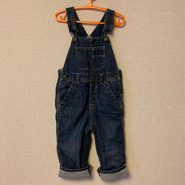 babyGAP(ベビーギャップ)のbabygap オーバーオール キッズ/ベビー/マタニティのキッズ服 男の子用(90cm~)(その他)の商品写真