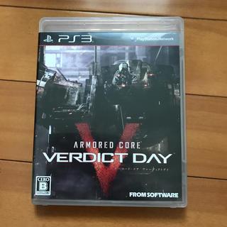 プレイステーション3(PlayStation3)のARMORED CORE VERDICT DAY PS3通常版(家庭用ゲームソフト)