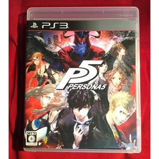 プレイステーション3(PlayStation3)の送料込 PS3 ペルソナ5 通常版 (家庭用ゲームソフト)