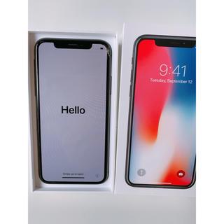 Apple - iPhone X Speace Gray64GB