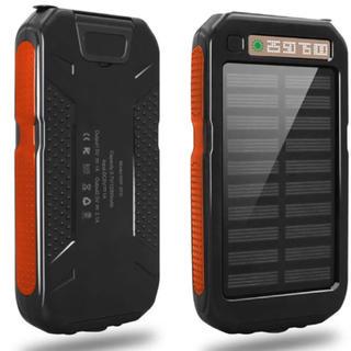 ✨大特価‼️✨ 【大容量】モバイルバッテリー ソーラー高品質 安心PSE