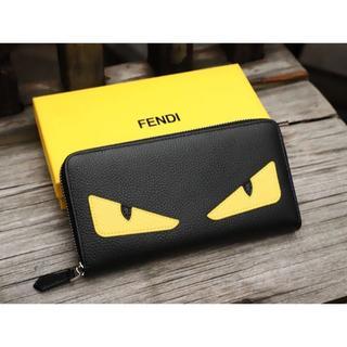フェンディ(FENDI)のFENDI 長財布 男女兼用 ラウンドファスナー レザー(長財布)