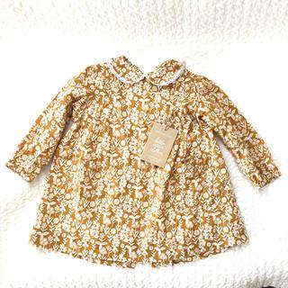 キャラメルベビー&チャイルド(Caramel baby&child )の美品 Little Cotton Clothes ワンピース 12-18m(ワンピース)