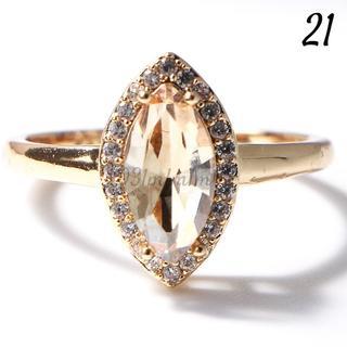 Y11 リング 21号 人工石 シャンパントパーズ 大きいサイズ(リング(指輪))