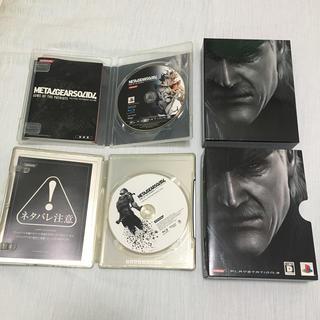 プレイステーション3(PlayStation3)のPlayStation3 メタルギアソリッド4 初回生産版 ボーナスディスク付き(家庭用ゲームソフト)