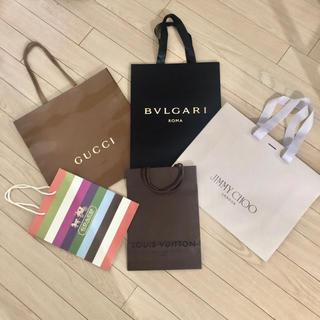 Gucci - グッチ ブルガリ ジミーチュウ 紙袋 ショップ袋 まとめ売り