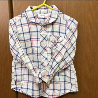 セラフ(Seraph)の美品☆セラフ☆チェックシャツ☆ベビー☆キッズ(ブラウス)