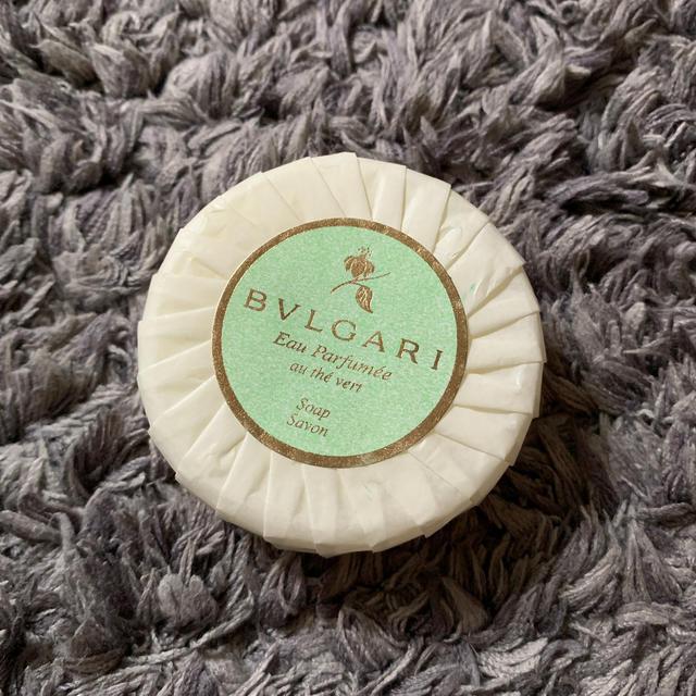 BVLGARI(ブルガリ)のブルガリ ソープ 石鹸 コスメ/美容のボディケア(ボディソープ / 石鹸)の商品写真