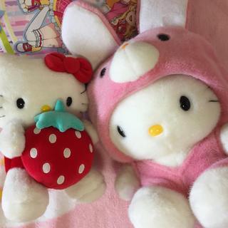 ハローキティ - キティ ぬいぐるみ サンリオ HELLO KITTY