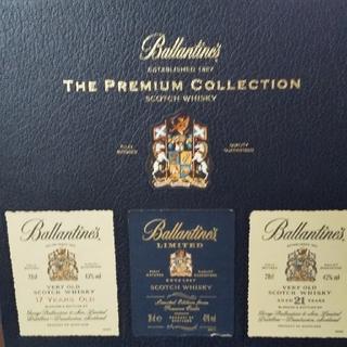 バランタインカシミヤ(BALLANTYNE CASHMERE)のザプレミアムコレクション スコッチウイスキー(ウイスキー)