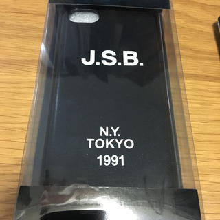 サンダイメジェイソウルブラザーズ(三代目 J Soul Brothers)のiPhoneケース J.S.B.(iPhoneケース)