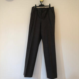 フラノ地パンツ(XL)ストラネスブルー(カジュアルパンツ)