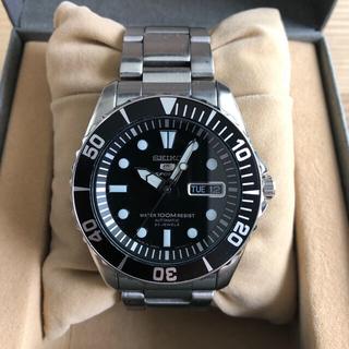セイコー(SEIKO)の美品 SEIKO 5 SPORTS SNZF17JC 日本製(腕時計(アナログ))