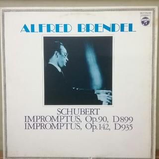 コロンビア(Columbia)のシューベルト:即興曲全曲~ブレンデル (LPレコード)(クラシック)