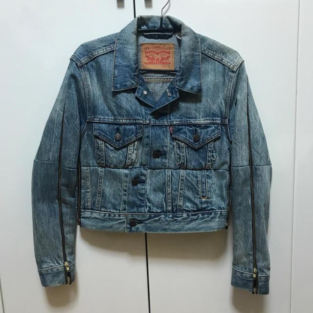 Balenciaga(バレンシアガ)の再構築デニムセットアップ メンズのジャケット/アウター(Gジャン/デニムジャケット)の商品写真