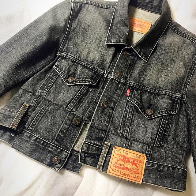 Balenciaga(バレンシアガ)のvetements風 デニムジャケット メンズのジャケット/アウター(Gジャン/デニムジャケット)の商品写真
