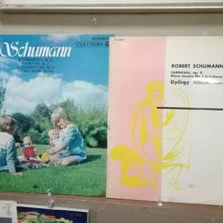 コロンビア(Columbia)のシューマン:ピアノ曲集~ジェルギー·シェベック (LPレコード2枚)(クラシック)