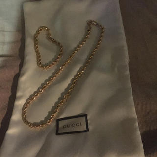 Gucci - アムウェイ 金運UP 喜平 ネックレス ブレスレット GUCCI袋つき