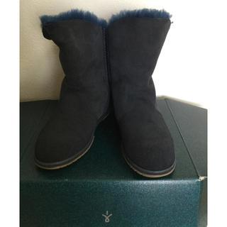 エミュー(EMU)の【EMU】リアルムートンショートブーツ✨タグ付き未使用品(ブーツ)