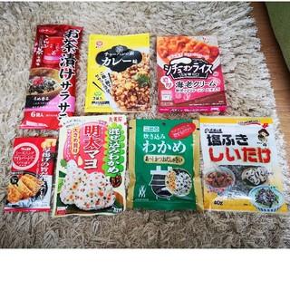 お茶漬けの素等 レトルト ご飯のお供に…☆(インスタント食品)