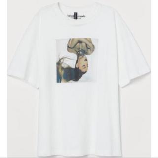 エイチアンドエム(H&M)のH&M アリアナグランデ コラボ Tシャツ(Tシャツ(半袖/袖なし))