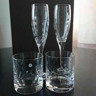 ウェッジウッド(WEDGWOOD)のお値下げお受け致します!WEDGWOOD グラス4つセット☆(グラス/カップ)