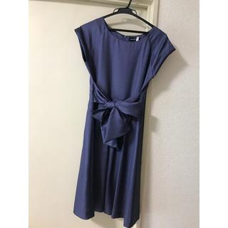 グリーンレーベルリラクシング(green label relaxing)のグリーンレーベル   ドレス ワンピース 美品(その他ドレス)