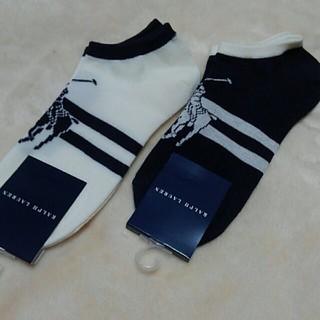 Ralph Lauren - 新品ラルフローレンレディース靴下2足セット