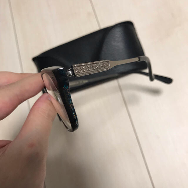RAGEBLUE(レイジブルー)のレイジブルー クーレンズコラボ メガネ メンズのファッション小物(サングラス/メガネ)の商品写真
