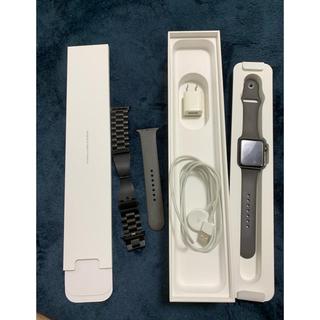 アップルウォッチ(Apple Watch)のApple Watch series 3 (GPS +Cellular)(腕時計(デジタル))