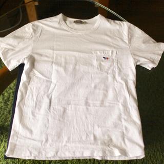 メゾンキツネ(MAISON KITSUNE')のメゾンキツネ 白T(Tシャツ/カットソー(半袖/袖なし))