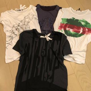 グッチ(Gucci)のGUCCI  Tシャツ4枚セット(Tシャツ/カットソー(半袖/袖なし))