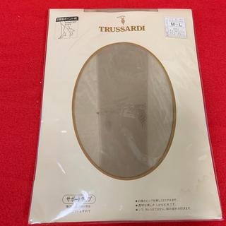 トラサルディ(Trussardi)の新品  パンティーストッキング  トラサルディ M〜L  ベージュ(タイツ/ストッキング)