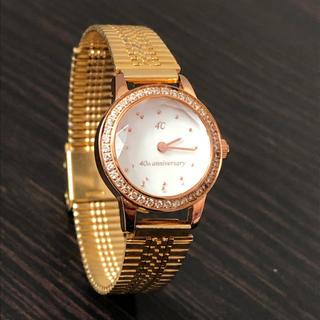ヨンドシー(4℃)の4℃ 40周年記念 ジュエリーウォッチ 稼働中 時計(腕時計)