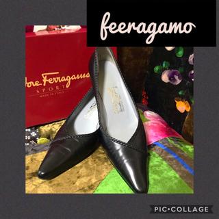 フェラガモ(Ferragamo)の正規品☆*feeragamoフェラガモ☆*綺麗なパンプス☆*フェラガモパンプス(ハイヒール/パンプス)