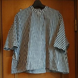 MUJI (無印良品) - 無印良品   ギンガムチェックシャツ
