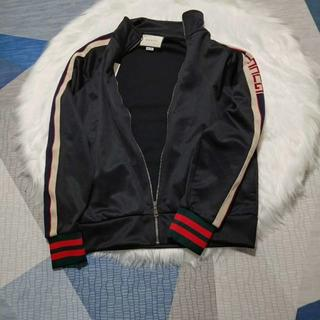 Gucci - 【GUCCI】テクニカルジャージージャケット (BLACK)